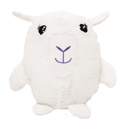 Sequin Surprise Soft Toy - Llama