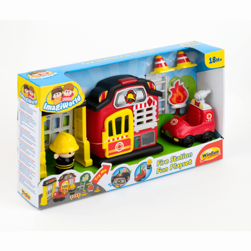 WinFun Fire Station Fun Playset