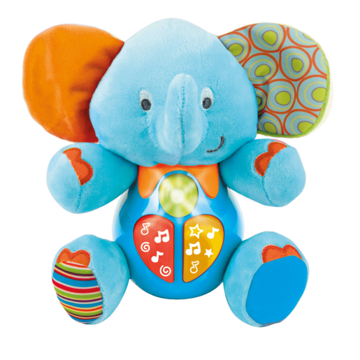 WinFun Sing and Learn With Me Timber the Elephant - Blue