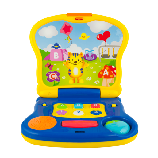 WinFun Laptop Junior - Tiger