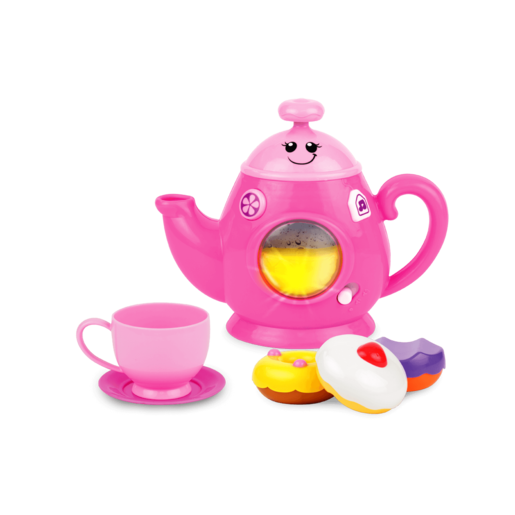WinFun Fun and Sweets Tea Set - Pink