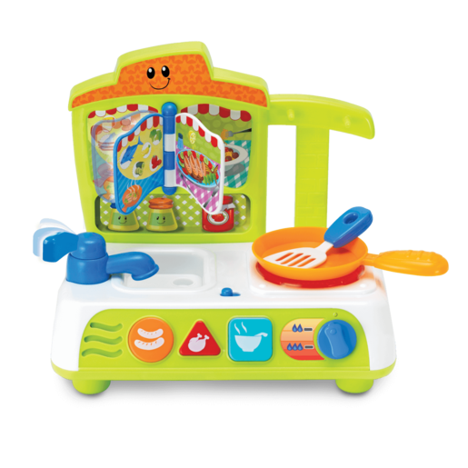 WinFun Cook and Fun Kitchen - Green