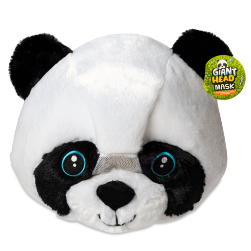 Plush Panda Head Mask