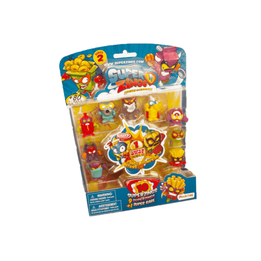 SuperZings Series 2 Blister 10 Pack