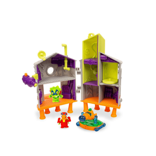SuperZings Rivals of Kaboom Secret Lab Attack Playset