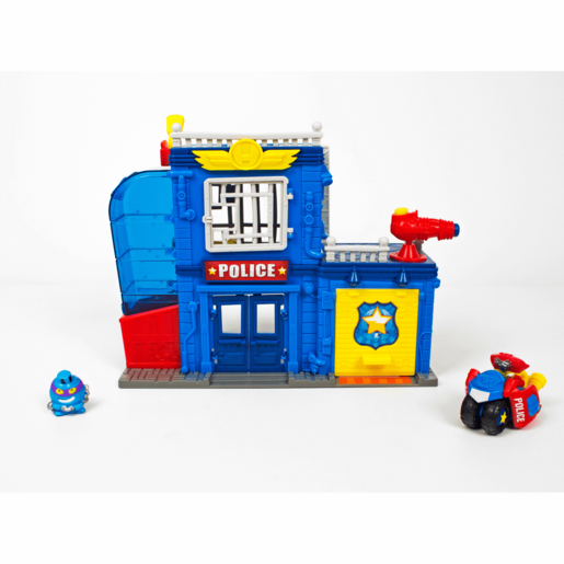 SuperZings Series 2 Police Station Playset