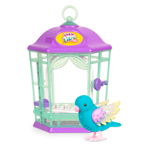 Little Live Pets Light Up Bird Cage - Skye Twinkles