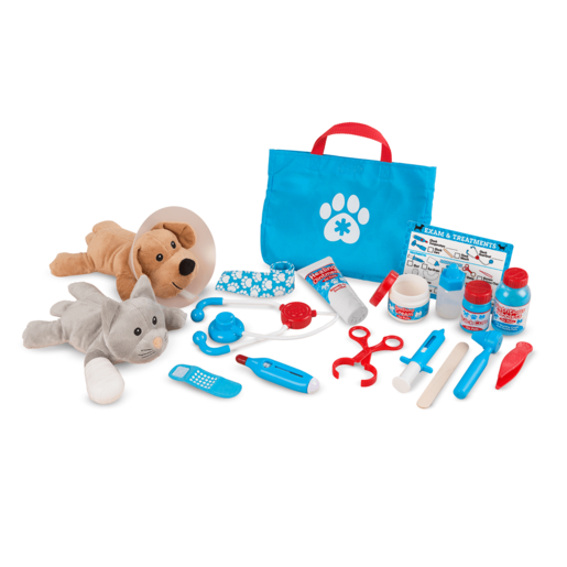 Melissa & Doug Pet Vet Play Set - Examine and Treat