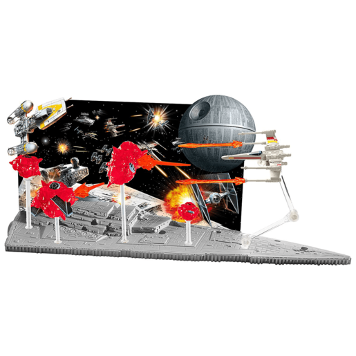 Hot Wheels Star Wars Starship Battle Scenes Spaceship Playset