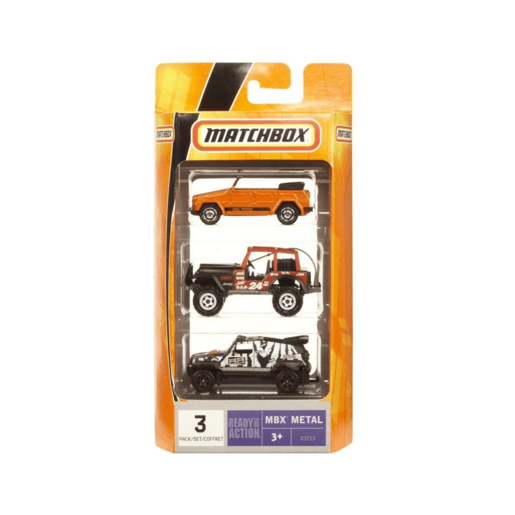 Matchbox Off-Road Vehicle - 3 Pack