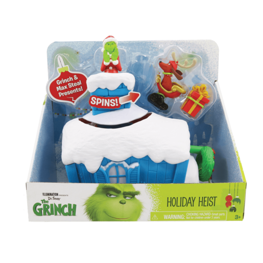 The Grinch - Grinch Whoville 2 Figure Playset - Holiday Heist