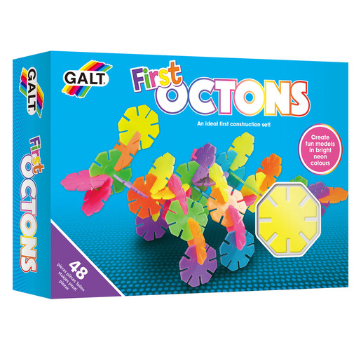 Galt My First Octons 3D Set – 48pc (Styles Vary)