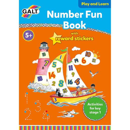 Galt Number Fun Book