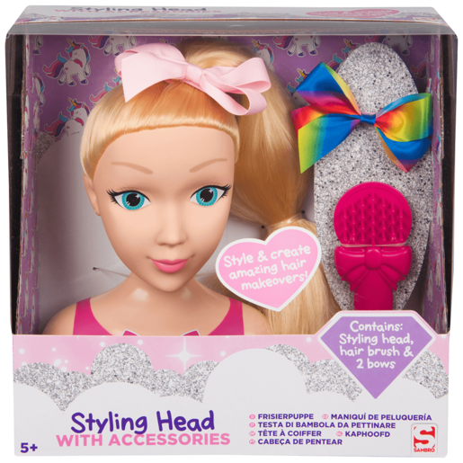 Styling Head with Accessories