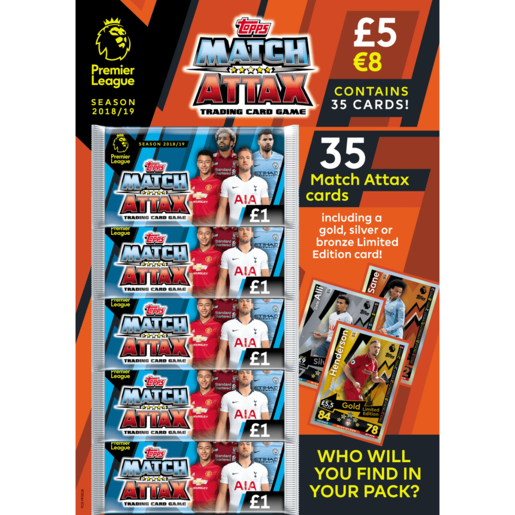 Match Attax Premier League Trading Card Game - Multipack