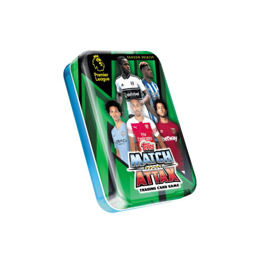 Match Attax Premier League Trading Card Game - Green Mini Tin
