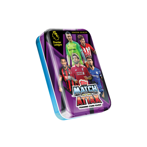 Match Attax Premier League Trading Card Game - Purple Mini Tin
