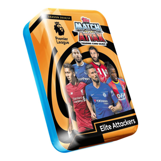 Match Attax Premier League Elite Attackers Tin