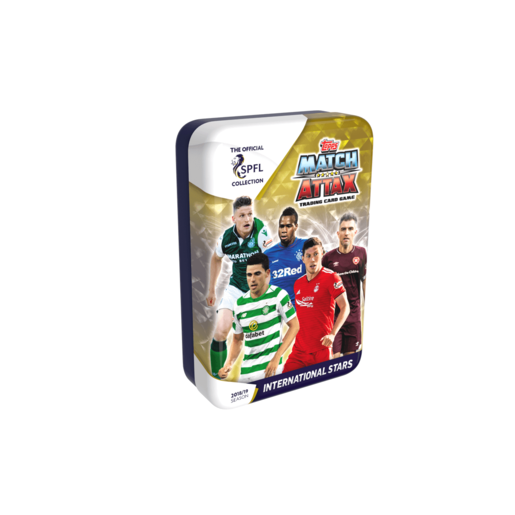 Match Attax Scottish Premier League Trading Card Game - International Stars