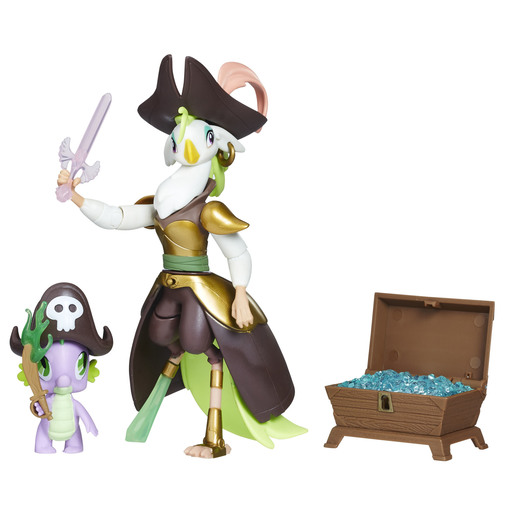 My Little Pony The Movie Pirate Power Figure - Captain Calaeno & Spike
