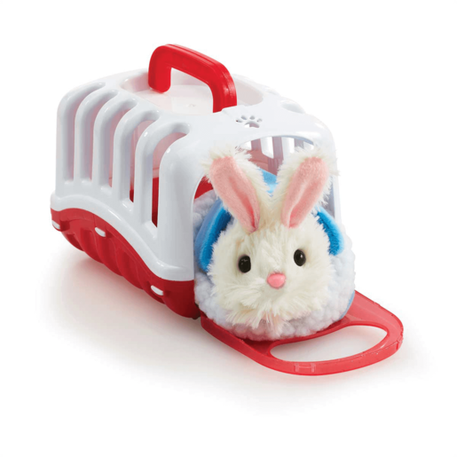 Pitter Patter Pets Carry Around Bunny - Red