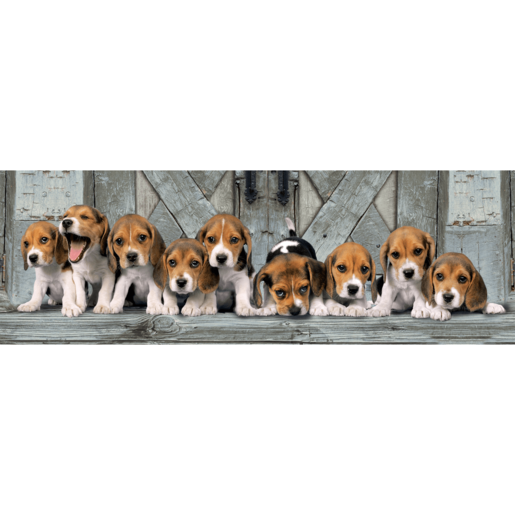 Clementoni Panorama Beagles Puzzle - 1000pcs