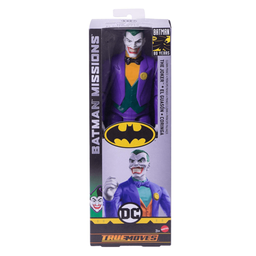 DC True Moves Batman Mission 30cm Figure - Joker