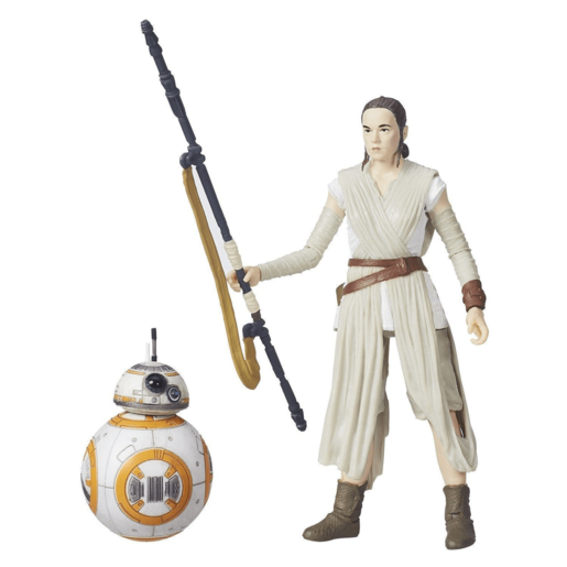 Star Wars The Black Series 15cm Figure - Rey (Jakku) and BB-8