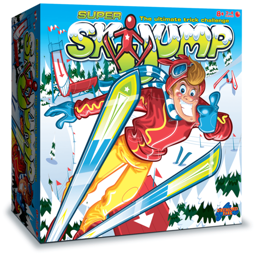 Super Ski Jump Game