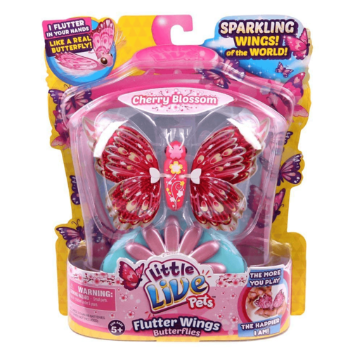 Little Live Pets Flutter Wings Butterflies - Cherry Blossom