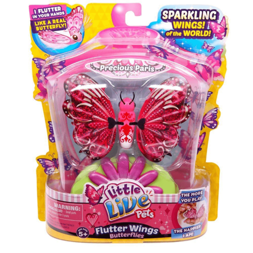Little Live Pets Flutter Wings Butterflies - Precious Paris