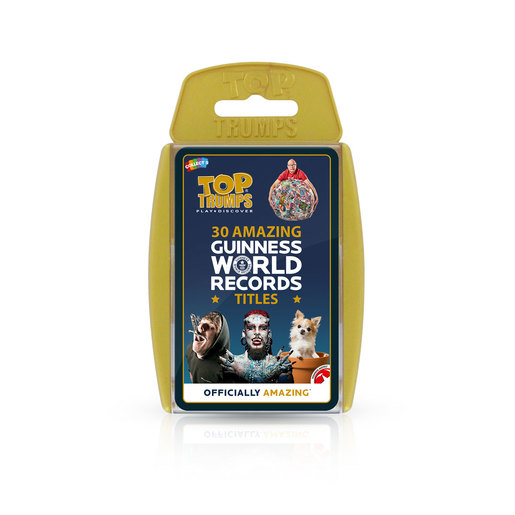 Guiness World Records Top Trumps Card Game