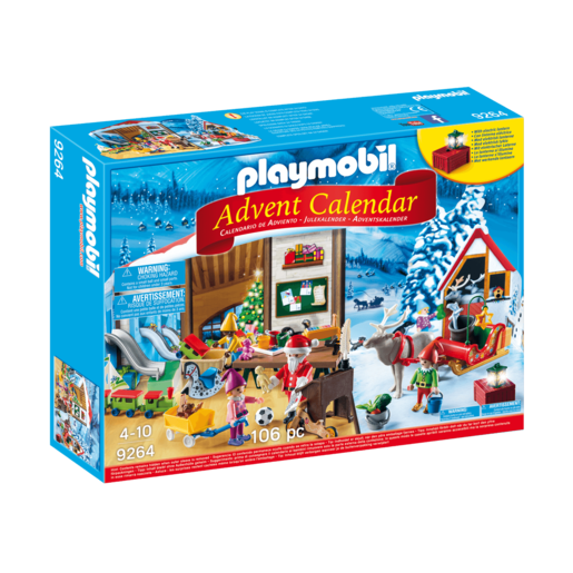 Playmobil Advent Calendar Santa Workshop   9264