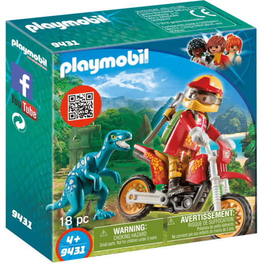 Playmobil Motocross Raptor - 9431