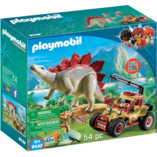 Playmobil Vehicle Stegosaurus   9432