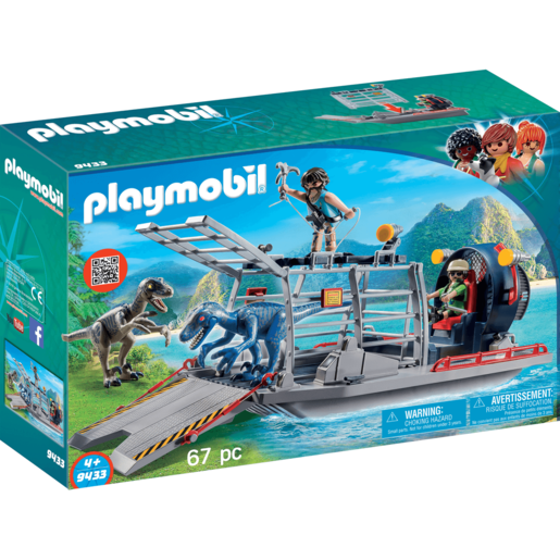 Playmobil Enemy Airboat Raptor - 9433