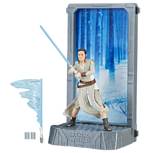 Star Wars The Black Series Titanium Series 13cm Figure - Rey