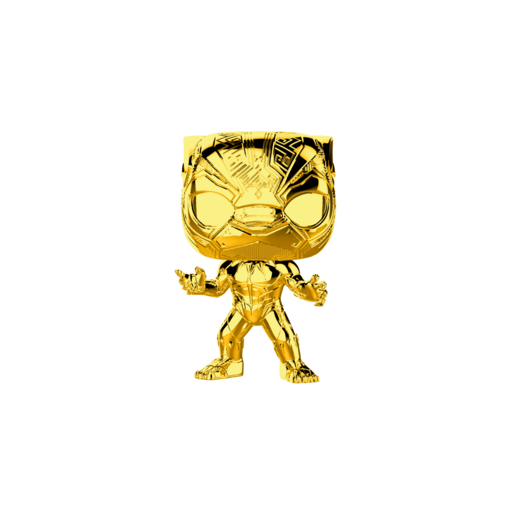 Funko Pop! Marvel: Black Panther - Chrome Black Panther