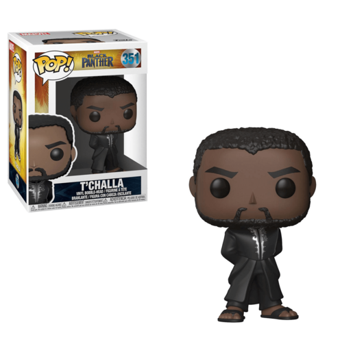 Funko Pop! Marvel: Black Panther - Black Panther in Robe