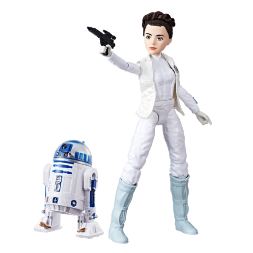 Star Wars Forces Of Destiny - Princess Leia Organa and R2-D2