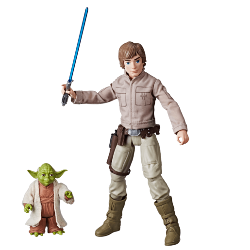 Star Wars Forces Of Destiny - Luke Skywalker and Yoda
