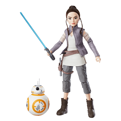Star Wars Forces Of Destiny - Rey of Jakku and BB-8