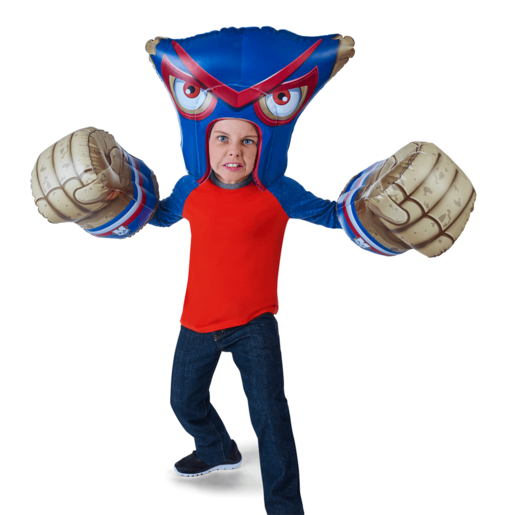 Massive Monster Mayhem Inflatable Armor - Macho Cheese