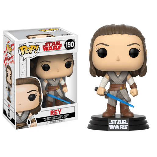 Funko Pop! Movies: Star Wars The Last Jedi - Rey