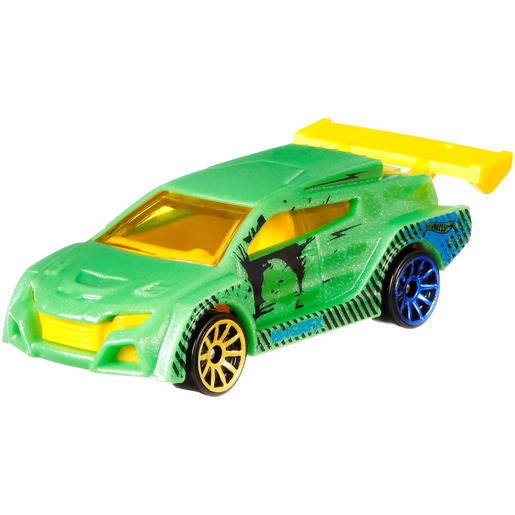 Hot Wheels Colour Shifters Vehicle - Green to Black from TheToyShop