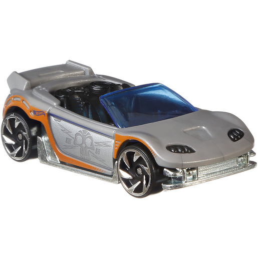Hot Wheels Colour Shifters Vehicle - Silver to Orange
