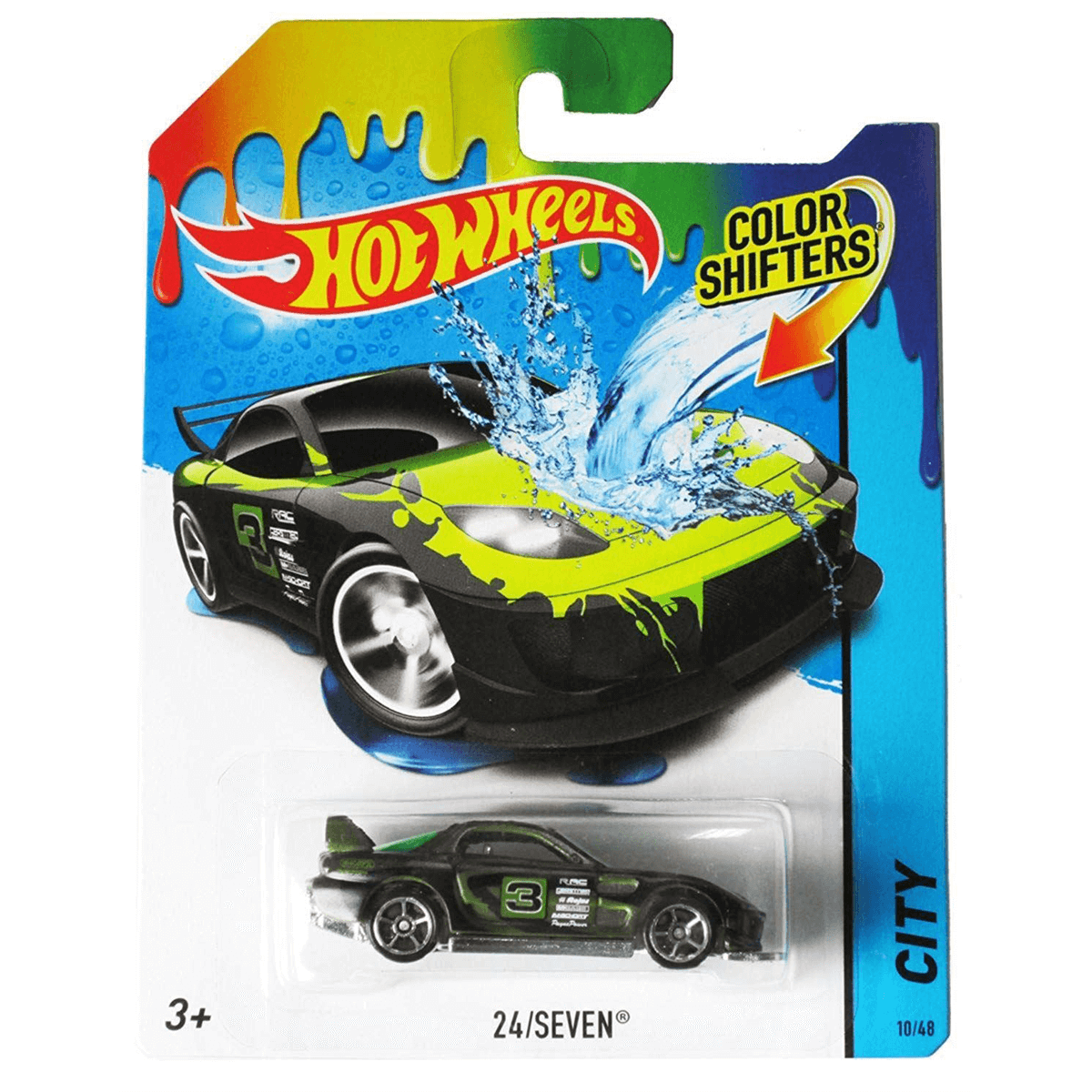 Hot Wheels Colour Shifters 24 Seven The Entertainer