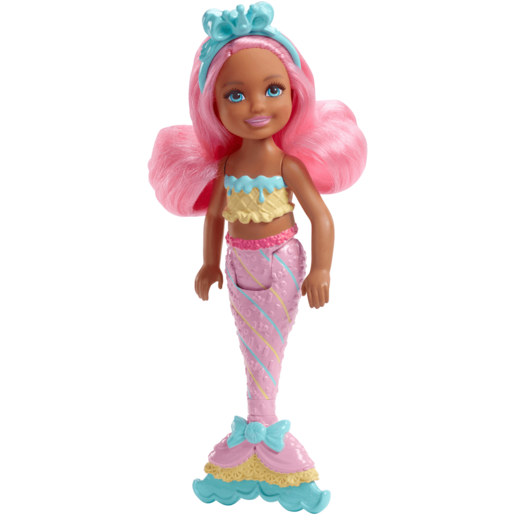 Barbie Dreamtopia 15cm Mermaid Doll - Pink Cove