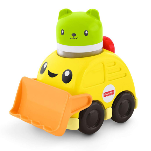 Fisher-Price Press and Rattle Racers Bulldozer