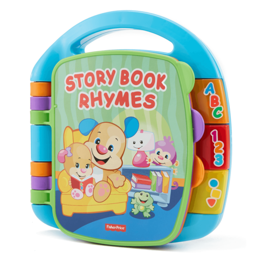 Fisher-Price Laugh and Learn Electronic Educational Toddler and Baby Book